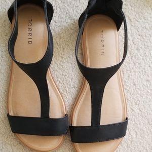 Torrid T Strap sandles